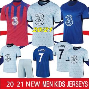 21 22 Pulisik Futbol Formaları Kante Werner Ziyech 2021 Marcos A. Gömlek Eve Away Abraham Chiilwell Erkek Çocuk Kiti Camisetas de Fútbol