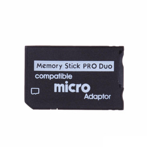 Micro SD to Memory Stick Pro Duo Adapter Compatible MicroSD TF Converter Micro SDHC to MS PRO Duo Memory Stick Reader for Sony PSP