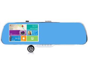 specchietto retrovisore 5 pollici, azionamento del registratore, registrazione duale, retrovisore retromarcia, navigatore Android, con il cane elettronico GPS dell'automobile navigatore dvr