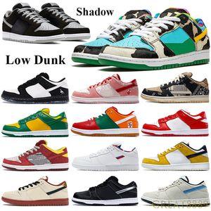 Classic High Dunk Ombra scarpe da basket Chunky Dunky pro mussola camion nero IT Travis Scotts Sneakers San Valentino Parra Formatori