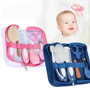 6pcs / Set Baby Health Care Kits Soins des ongles Enfants Enfants Toddler Toilettage Nail Clipper Ciseaux Multi Tool Santé Set for Baby Z1776