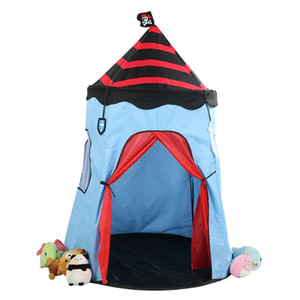 Amazon hot sale Pirate children tent play house yurt tent castle
