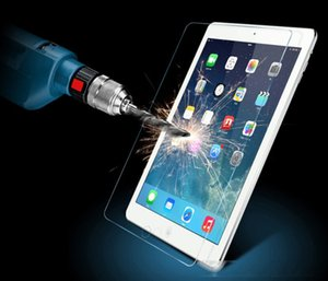 Premium Tempered Glass for iPad Pro 2 3 4 5 6 iPad Air 2 Mini Protective Explosion Proof Screen Protector 2.5D Film with Retail Package Box
