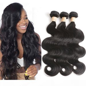 Malaysian 3 Bundles Long Inch 30inch To 40 Inch High Quality Body Wave Malaysian Virgin Hair Products Wholesale Natural Color