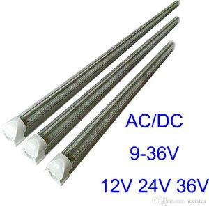 4ft 3ft 2ft 1ft DC24V LED Tube T8 18W интеграции более низкого напряжения DC12V Светодиодные трубки свет 36V Cooler светодиодные огни люминесцентных ламп