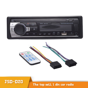 Car Radio Digital Bluetooth Car MP3 Stereo Receiver Audio Music USB SD with In Dash Stereo Player AUX Input 1 Din SJD520 Audio