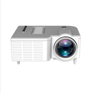 UC28C Mini LED 320x180 Pixels Supports 1920x1080P HDMI USB Audio Portable Projector Home Media Video Player