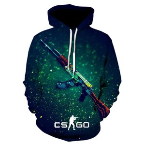 The Game CS GO Costume Men's Sportswear 2020 Brand Thick Sweatshirt hip hop Hoodies Jacket Harajuku Tracksuit Hoody