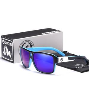 Dragon Sonnenbrille Männer Frauen Platz Brand Design Klassischer männlicher Schwarz Sports Sun-Gläser gafas de sol hombre 1007 1007