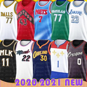 Luka Stephen Curry Doncic jerseys del baloncesto Sion Kevin Williamson Durant LeBron James Bryant Damian Lillard Jimmy Butler, Siakam Leonard Hombres
