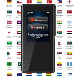 Idioma Instant Translator Voice Portable Translation Device Support 70 Países Regiones Idioma Lenguaje Two-Way