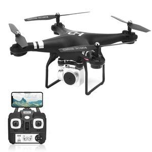 Drone SH5HD FPV avec caméra WIFI 1080P RC Quadcopter Vidéo Vidéo altitude 2.4GHz 4 canaux 6 Axe Gyro RC Drone Hélicoptère