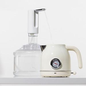 Разработный бочковый дозатор для воды насос насос электрический дозатор воды ультра-тихий низкий уровень шума 1200 мАч силиконовая труба напиток LLA326
