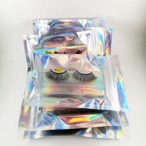 10 Pairs Wholesales 3D Faux Mink Hair Lashes Bulk Natural False Eyelashes Fluffy Lash Book Vendor with Silver Bags