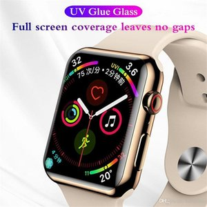 3D UV Glass Nano Liquid For Apple Watch 38 40 42 44mm Screen Protector For Watch 1 2 3 4 5 Tempered Glass Wholesale
