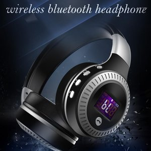 2020 New Wireless Headphone Bluetooth 5.0 Stereo Earphone Gaming Music Headsets With microphone LED Display Headphones Earbuds1