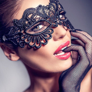 Porno Cosplay Transparent Mask Sexy Lace Erotic Baby Doll Women Lingerie Hollow Out Sex For Hot Costumes Fcbpm