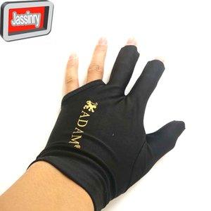 10 PC / Charge von hoher elastischer Stoff Adam Billard Handschuhe Lieferung in Half Finger Snooker Handschuhe linke Hand Billard Zubehör