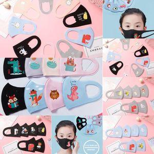 DesignerFace PM2.5 Boca Niños Niños Anti-Contaminación Mascarillas N K Dibujos animados Anti-polvo transpirable Lléveno Lavable Lavable Reutilizable 95 Fac Maz