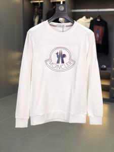 lettera di uomini QTT3190 20ss Moncl maglione 3D stampare sport incappucciato allentato casuale uomini maglione a maniche lunghe e le donne di formato M-3XL