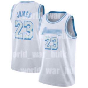 2021 Yeni Los AngelesLakeJersey LeBron 23 James Russell 4 Westbrook Luka WashingtonSihirbazlıklar77 Doncic Basketbol Formaları