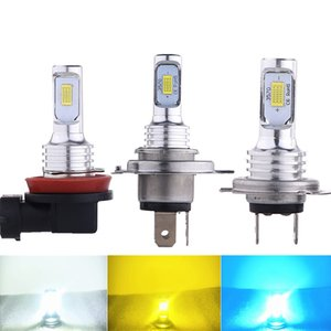 H4 80W 3570 2SMD Car Fog Light High Brightness Automobile LED Decoding Fog Lamp Motorcycle Headlight H7 9005 9006 H1 H3 880
