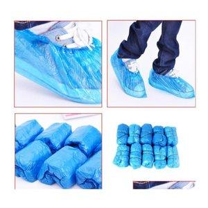 Livraison gratuite Couvre-chaussures jetable Paquet de 100 pcs / Protégez vos tapis et planchers O QYLOXX BDEBABY