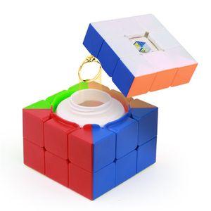 Yuxin 상자 3x3x3 매직 큐브 중공 스토리지 박스 큐브 3 레이너 어린이를위한 큐브 전문 퍼즐 장난감 어린이 선물 Y200428