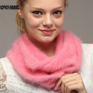 LOVELY-Jinnuo заказ Плюшевые норки кашемира водолазку обычай утолщенной Unisex шарф воротник JN302 Y201007