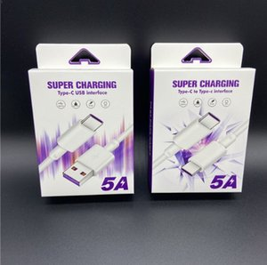 1m 1.5m 2m tipo C Micro USB 5A Cabo de dados de carregamento rápido para Android Charge Transmission Wire para Samsung S20 10 Xiaomi Huawei P 30 20 Cabo