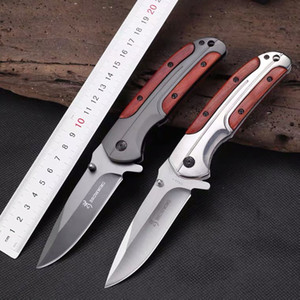 Browning DA43 Titanium Tactical Knife Camping Tool Titanium Hunting Knife Outdoor Survival Knife 1pcs free shipping