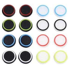 PS5 светящийся крышка PS4 Cap Cap Cap Xbox One Universal 3D нескользящая рокер ключ ключей восемь цветов