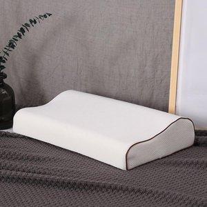 Soft Rectangular Sleep Memory Sponge Almohada Espuma Ortopédica Almohada Cervical Proteger Embarazo Ropa de cama
