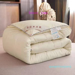 Pure Color Hot-selling Bedding Comforter Soft Solid Bed Duvet For Bedding Sets Filler Cotton Bedding Supplies
