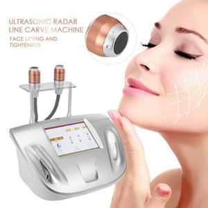 Efectiva Vmax HIFU HIFU Ultrasonido 3,0 mm 4,5 mm 2 sondas de radar Línea Carve Estiramiento de la piel de la cara máquina de elevación del SMAS