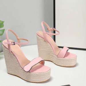 2020 zapatos de las sandalias el aumento de altura Traje Mujer Beige molletes zapatos Talones del todo-Med de las mujeres de las sandalias gladiador