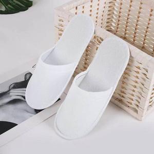 Zapatillas desechables del hotel Suministros desechables del hotel Homestay Inn Non-Slip Slippers Spot al por mayor libre de flete