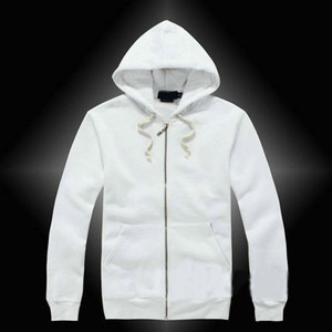 Mens polo jacket Hoodies and Sweatshirts autumn solid casual with a hood sport jacket zipper casual men's best quality Free shipping