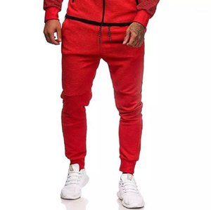 Pantalon Hommes Mens Joggers Casual Slim Slim Fitness Sportswear Supports De Skinny Santé Pantalons Pantalons Gymnases Jogger Track Pants1