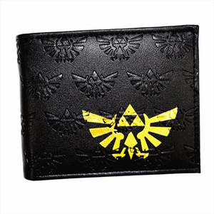 New Arrival Game Zelda Wallet High Quality PU Leather Mens Purse Drop Shipping Good Quality New Fashion