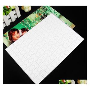 A4 Sublimation Blank Puzzle 120pcs Diy Craft Heat Press Transfer Crafts Jigsaw P sqcKUD my_home2010