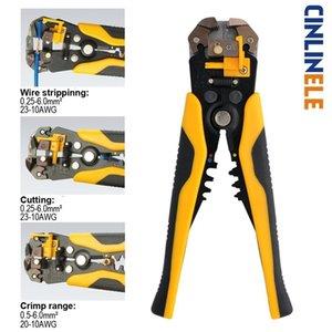 Pense Otomatik 0.25-6.0mm Kesici Kablo Makas Tel Stripper sıkma aleti Çok Hassas Yüksek Kaliteli Y200321 Sıyırma