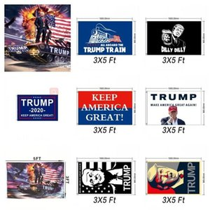 Trump Flag Polyester Donald American Flags Trump Banner Flag Hanging Flag President Election Party Decorations BWC276