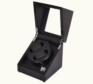 Single high gloss wooden automatic watch winder