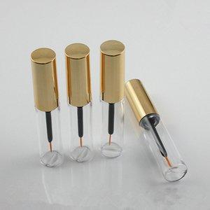 200pcs 8ml Mini Cosmético Cílios vazios Tubo Mascara Eyeliner frascos garrafa Maquiagem Organzier Container com escova Plugs