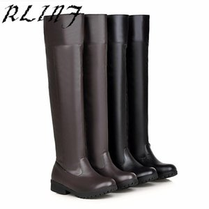 RLINF Size 34-48 Winter Knee Boots Knight Boots Over The Knee Large Size 40-48 Yards