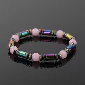 Wholesale colorful natural stone beaded bracelet fashion Summer hot new design factory direct men women bead bracelet jewelry