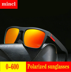 Diopter Finished Myopia Polarized Sunglasses Men Women Nearsighted Glasses Fashion Metal round men's driving goggles UV400 FML