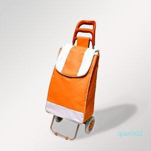 트롤리 쇼핑 위대한 카트 경량 용량과로드 접기, 바퀴 및 안티 SL 방수 장바구니