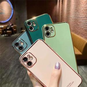 Для iPhone 12 11 Pro Max XS MAX XR X 8 плюс чехол для телефона TPU Cover